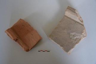 Romeinse tegulae of dakpannen